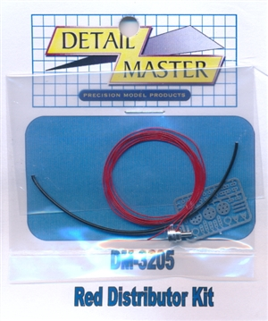 Red Wired Distributor Kit for 1/24 & 1/25