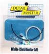 White Wired Distributor Kit for 1/24 & 1/25