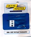 Detail Master 60's Style Tachometer for 1/24 & 1/25