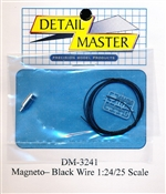 Black Wired Vertex Magneto Kit for 1/24 & 1/25