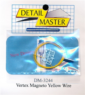 Yellow Wired Vertex Magneto Kit for 1/24 & 1/25