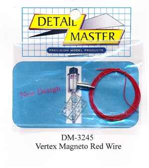 Red Wired Vertex Magneto Kit for 1/24 & 1/25