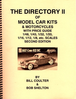 The Directory II Companion / Price Guide of kits in non-standard scales by US manufacturers by Coulter & Shelton