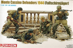 Monte Cassino Defenders 1944  '1939 - 1945' Series (1/35) (fs)