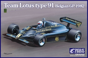 1982 Team Lotus Type 91 Belgian Grand Prix Race Car (1/20) (fs)