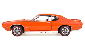 "1969 PONTIAC GTO ""PRE-PRODUCTION JUDGE"" - CAROUSEL RED FOR GTO NATIONALS(1/18) Rare Diecast  (fs)"