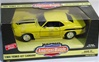 1969 CHEVY CAMARO YENKO - SUPERCARS ISSUE #2 - YELLOW & BLACK(1/18) Rare Diecast  (fs)