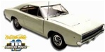 1968 DODGE CHARGER WHITE STRIPE DELETE 440CID - LTD ED SERIALIZED CHASSIS(1/18) Rare Diecast  (fs)