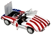 1967 Corvette Convertible 'Austin Powers' Stars and Stripes (1/18) Rare Diecast  (fs)