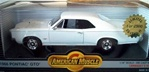 1966 Pontiac GTO Tri-Power Cameo Ivory, Black Stripe, Black Interior(1/18) Rare Diecast  (fs)