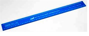 "12"" Deluxe Scale Model Reference Ruler"