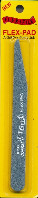 "Flexifile 150 Grit ""Coarse ""Angle Cut  Sanding Stick (Wet or Dry)"