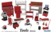 Garage Tools Remix (Shop Vac, Creeper, Work Desk, etc) (1/24) (fs)