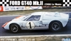 Ford GT40 Mk II #1 1966 LeMans Race Car (1/24) (fs)