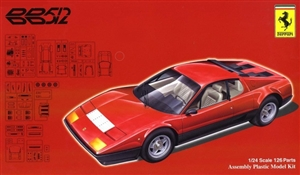 "Ferrari 512BB Berlinetta Boxer Sports Car (1/24) (fs) <br><span style=""color: rgb(255, 0, 0);"">Just Arrived</span>"