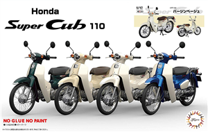 "Honda Super Cub 110 Scooter (Beige) (1/12) (fs) <br><span style=""color: rgb(255, 0, 0);"">Just Arrived</span>"