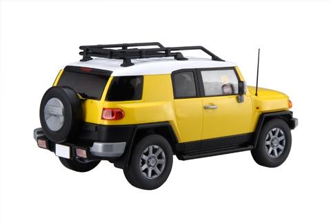Fujimi Models 1//24 Toyota FJ Cruiser 2-Door Yellow Plastic Model Kit 6613 FJM661