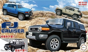 Toyota FJ Cruiser 2-Door SUV (Molded in Black) (1/24) (fs)