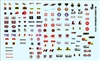 Gofer Racing 1970's Racing Contingency Sponsor Decal Sheet (1/25 or 1/24)