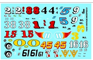 Vintage Modified Decal Sheet Gofer Decals (1/25 or 1/24)