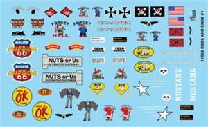 Odds and Ends Gofer Decals (1/25 or 1/24)