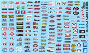 Drag Racing Secondary Sponsors Gofer Racing Decal (1/25 or 1/24)