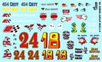 Stuff Sheet # 5 Gofer Racing Decal (1/25 or 1/24)