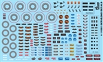 Car Detailing Decals (Under the Hood, Brakes, AC Vents, Radio, etc.) (1/25 or 1/24)