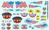 "US Flags & Banners ""Keep America Great"" Gofer Racing Decal (1/25 or 1/24)"
