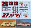 Gofer Racing Junior Johnson 1965 Ford Race Car Decal Sheet (1/25 or 1/24)