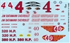 Rex White 1962 Chevrolet & 1937 Ford Model Car Decal Sheet Gofer Decals (1/25 or 1/24)