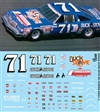 Gofer Racing 1980 Dave Marcis Buck Stove # 71 Olds Decal Sheet (1/25)