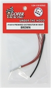 A Pre-Wired Distributor Brown Wiring with Plug Boot Material (1:24-1:25)