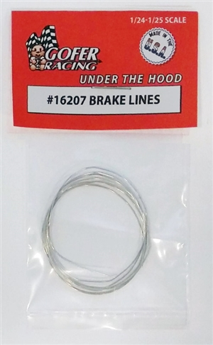Brake Lines (nickle plated will do 3-4 cars)