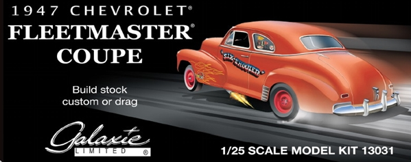 1947 Chevy Fleetmaster Coupe 3 N 1 Stock Custom Drag