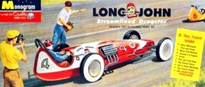 Long John Dragster with driver figure (1/25) (fs)