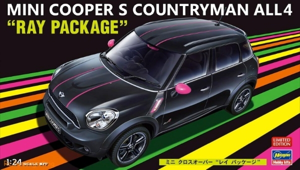 Mini Cooper S Countryman All 4 Ray Package Limited Edition 124