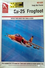 Su-25 Frogfoot 'Iraqi Air Force Fighter' Persian Gulf Fighters Series (1/72) (fs)