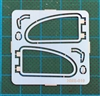 "Volkswagen ""VW"" Side Window Frames (1/24 & 1/25)"