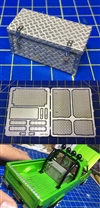 Diamond Plated Truck Bed Tool Box  (1/24 & 1/25)