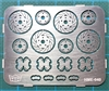 Disc Brakes 12mm (set of 4) (1/24 & 1/25)