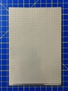"Diamond Plated Pattern Sheet (3.5"" x 5.5"") (1/24 & 1/25)"