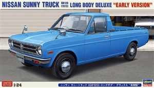 Nissan Sunny Truck GB120 Long Body Early Version (1/24) (fs)