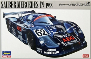 Sauber Mercedes C9 1988 Limited Edition (1/24) (fs)