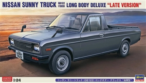 Nissan Sunny Truck GB122 Long Body Deluxe Late Version (1/24) (fs)