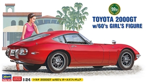 "Limited Edition Toyota 2000GT with Girl Figure (1/24) (fs) <br><span style=""color: rgb(255, 0, 0);"">Just Arrived</span>"