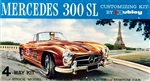 1959 Mercedes-Benz 300SL Roadster (4 'n 1) Stock, Rally, Road and Custom (1/24) MINT
