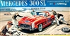 1959 Mercedes-Benz 300SL Hardtop (4 'n 1) Stock, Rally, Road and Custom (1/24) MINT