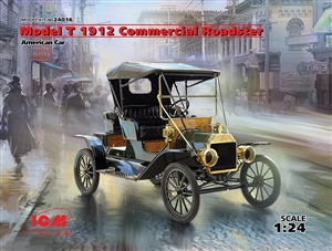 "American Model T 1912 Commercial Roadster Car (1/24) (fs) <br><span style=""color: rgb(255, 0, 0);"">Just Arrived</span>"