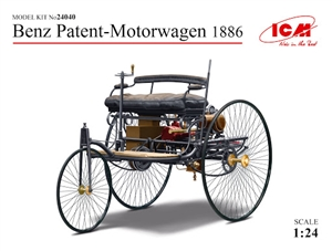 "1886 Benz Patent Motorwagen (1/24)  <br><span style=""color: rgb(255, 0, 0);""> Just Arrived</span>"